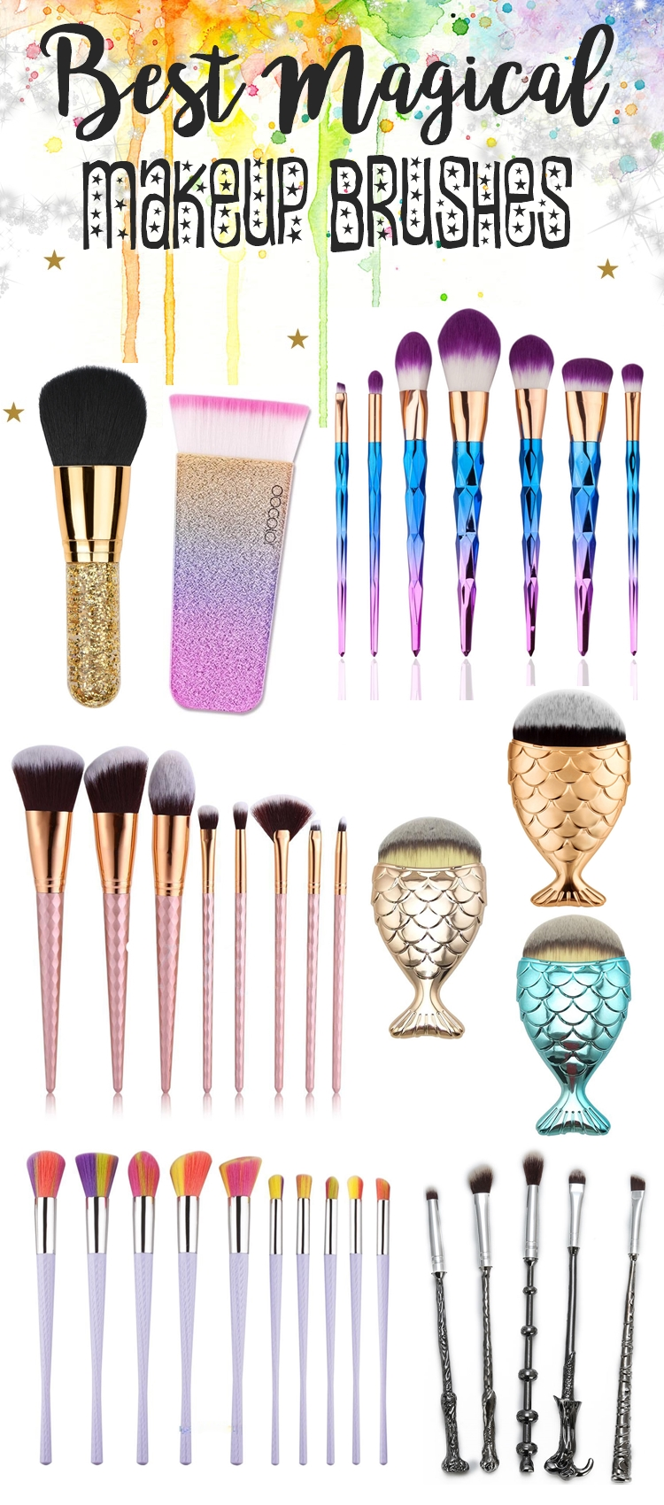 cheap-mermaid-makeup-brushes