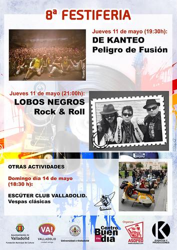 32ª Feria Intencional del Disco de Valladolid Castilla y León 8º FESTIFERIA