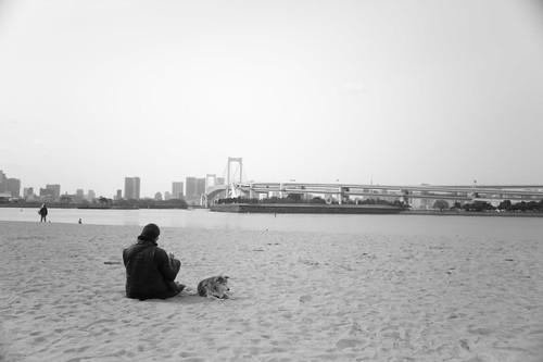 Rest on the sandy beach