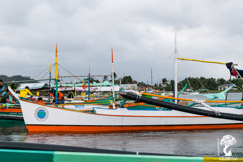 At San Vicente Port