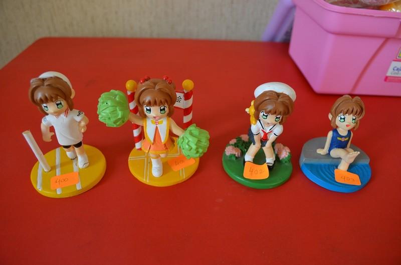 400 to 403 - Chibi Sakura figure collection