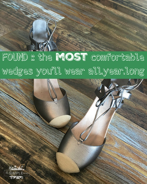 THE MOST COMFORTABLE WEDGES
