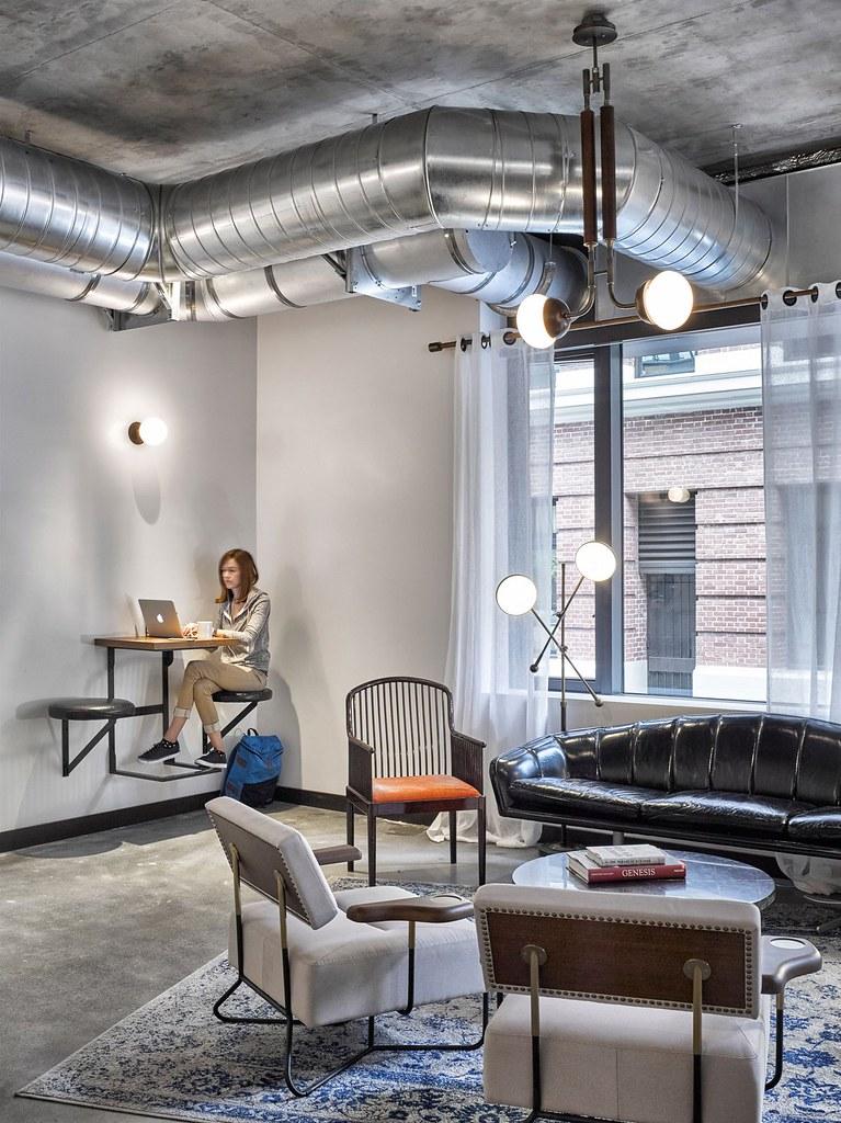 Workspace cafe by American studio AvroKO in San Francisco Sundeno_09
