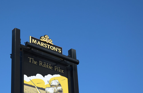The Ribble Pilot pub sign | by Tony Worrall