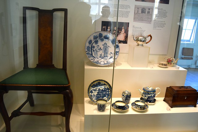 Furniture & China Display at The Geffrye Museum of the Home | @rachelphipps www.rachelphipps.com