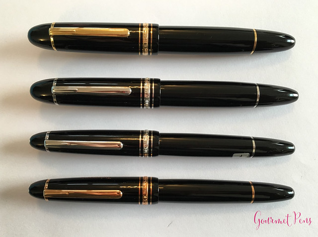 Review Montblanc Meisterstück 149 Platinum Fountain Pen - Oblique Triple Broad @Montblanc_World @AppelboomLaren 8
