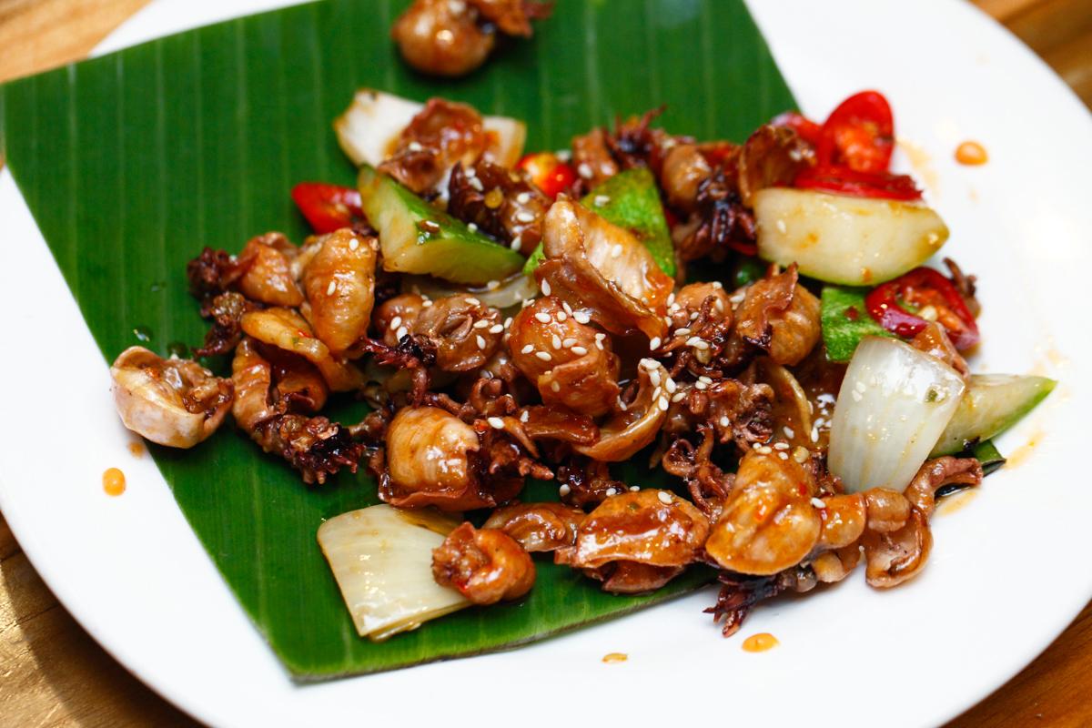 Naughty Nuri's Balinese Crispy Cumi Cumi