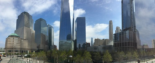 World Trade Center panorama