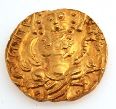 Late Kushan Period Gold Coin reverse