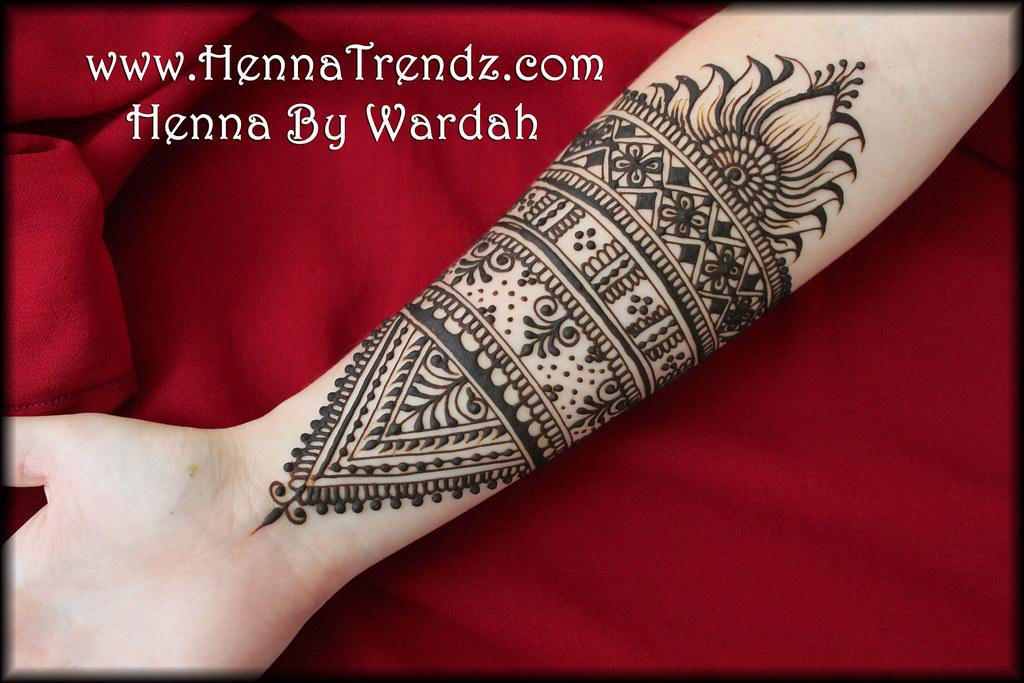 Moroccan Mehndi Patterns : Floral moroccan mehndi design san diego henna by wardah mu flickr