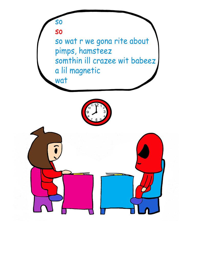 Page 22 B Pop Cartoon Comic Animation Bad Boy Girl Superhero Pee Wee Kid Anime