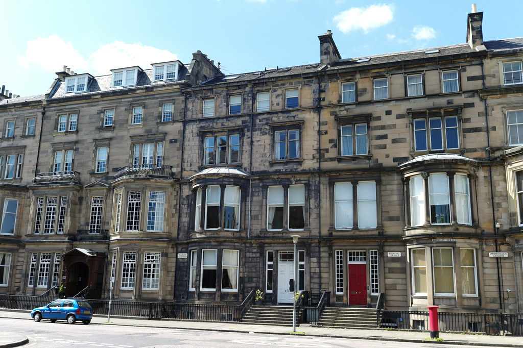 rothesay terrace edinburgh designed by sydney mitchell