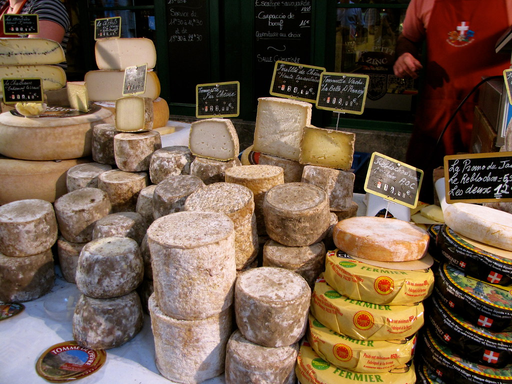 Fromages Outdoor Food Market In Annecy France K G