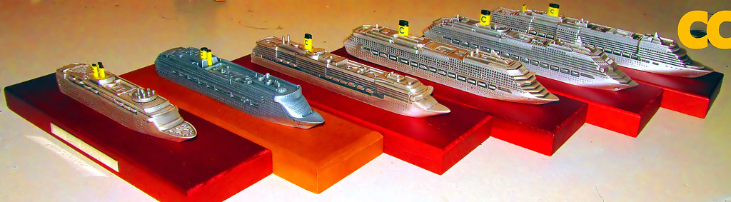 Cruise Ship Miniature Costa Cruises Ship Models