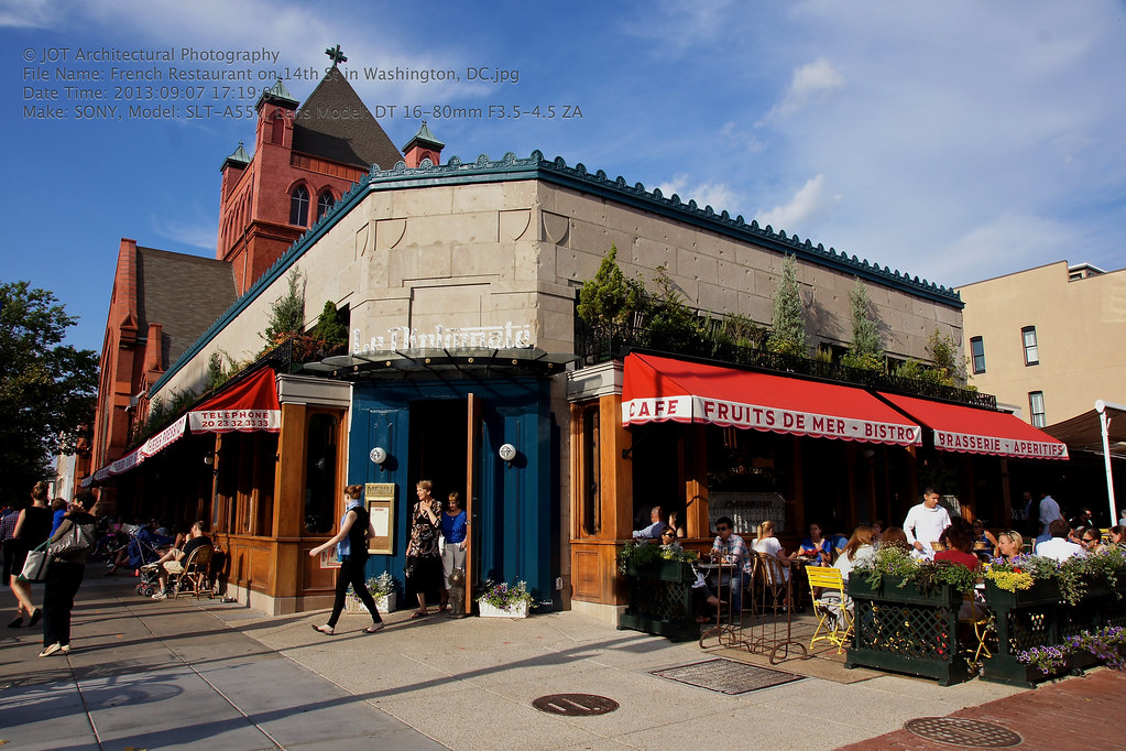 French Restaurant Le Diplomate On 14th St In Washington Flickr