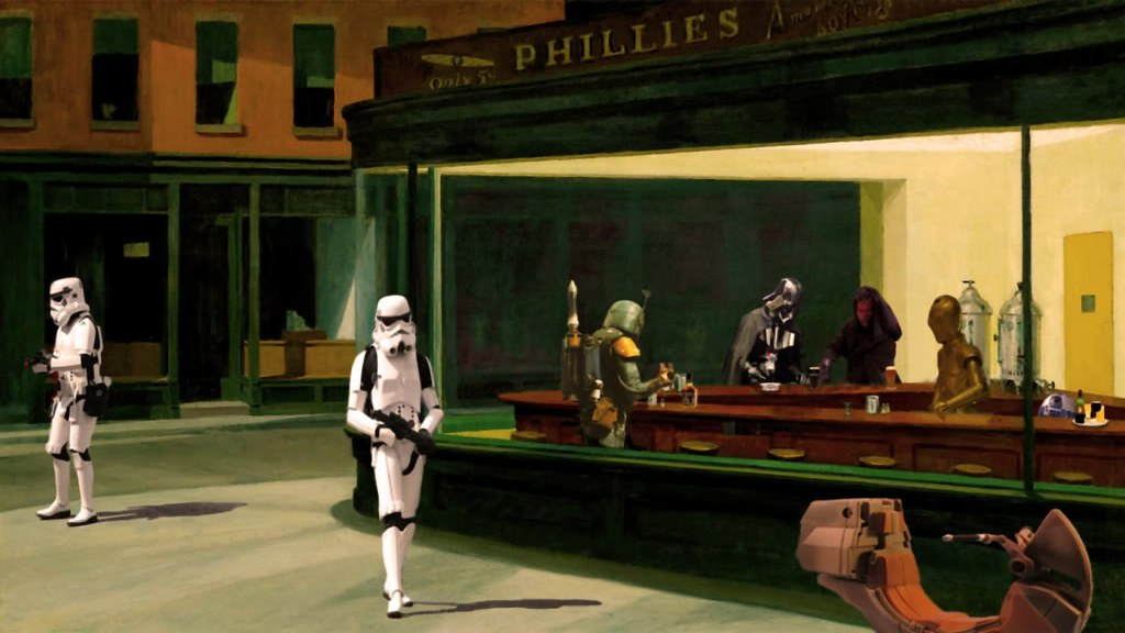 83 best images about Nighthawks on Pinterest | The ... |Nighthawks Star Wars