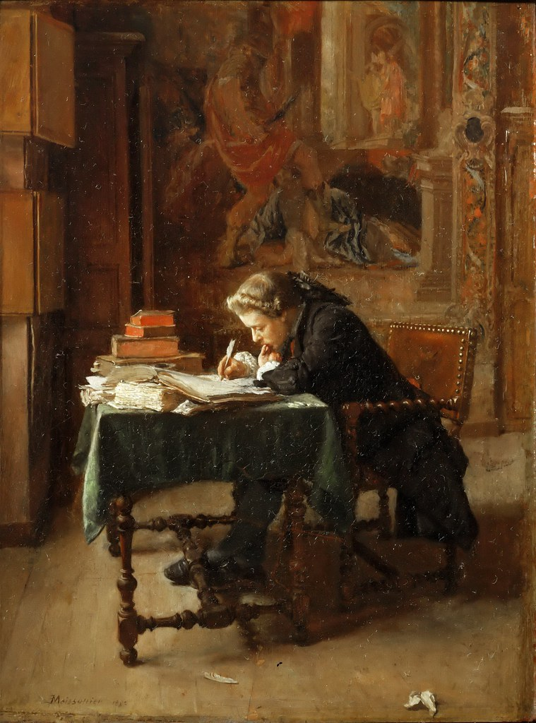 Paintings Letter Writing