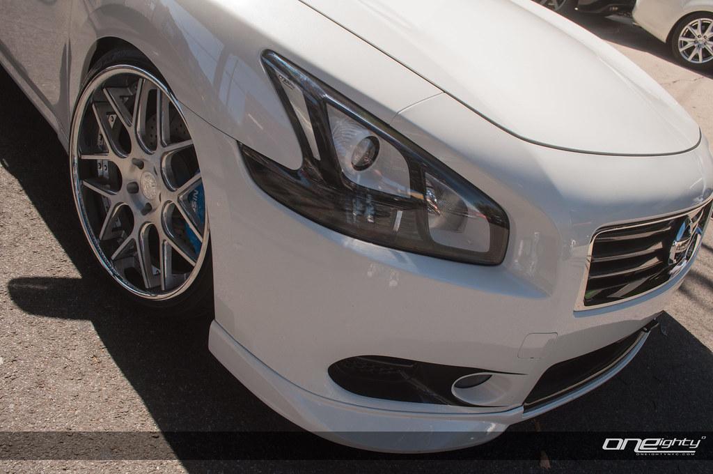 Nissan Maxima Custom Headlights Oneightynyc Flickr