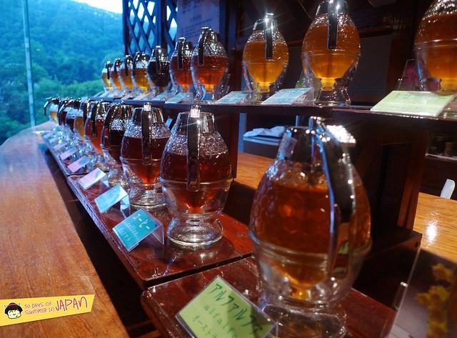 Hokkaido - Honey Tasting at Shogetsu Grand Hotel