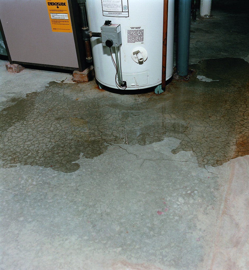 Water Leaking From Laundry Room