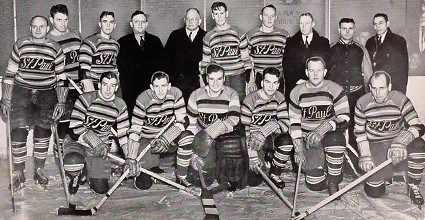 1938-39 St. Paul Saints team