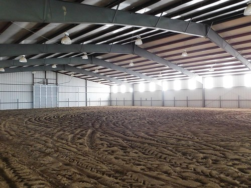 Inside view of riding arena | by thornhill3