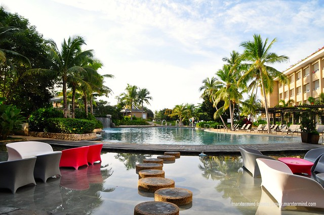 Main Swimming Pool at BE Grand Resort Bohol