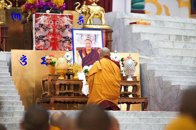 20170219AM_Offerings to the Gurus; Dorzong Rinpoche