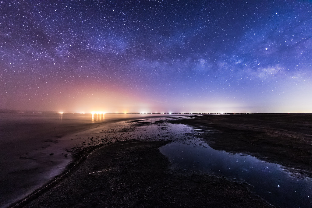 Milky Way Over the Salton Sea | This is my first Milky Way ...