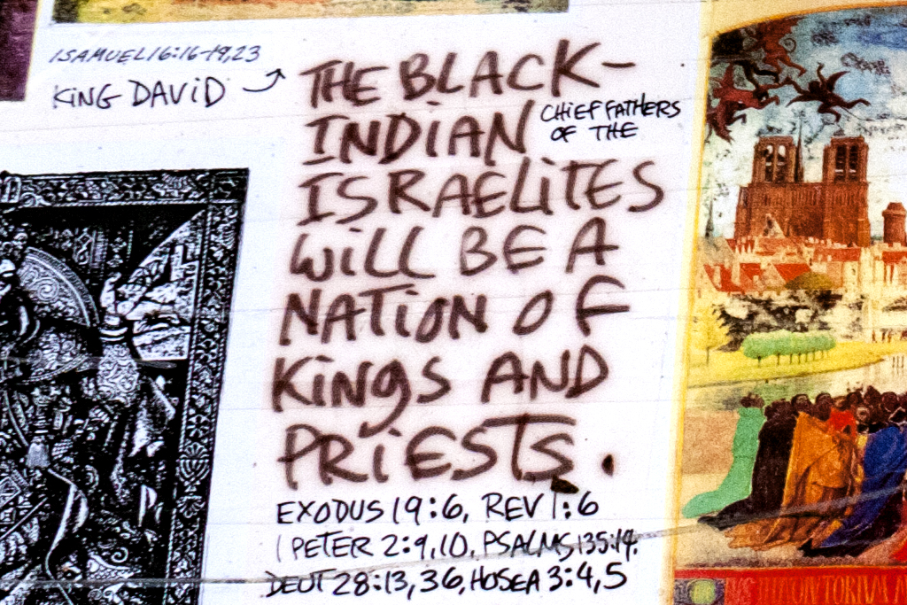Black Israelites in Little Five Points--Atlanta (detail)