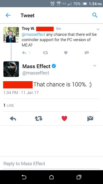 Mass Effect Support