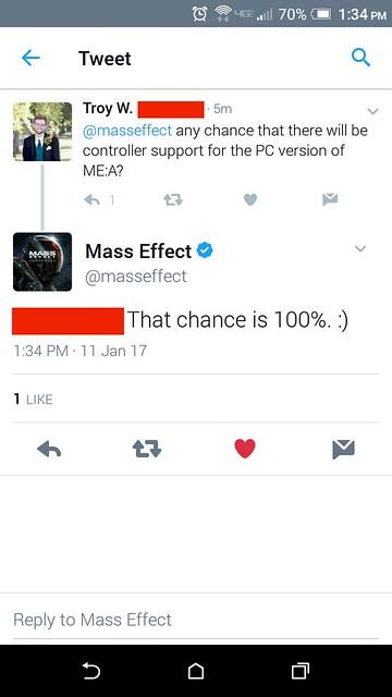 Mass Effect Support
