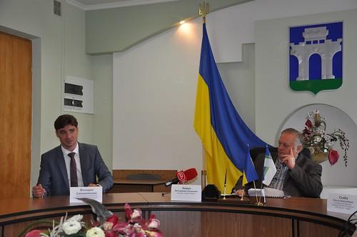 Під час презентації управляючої компанії «Балтія Сервіс»