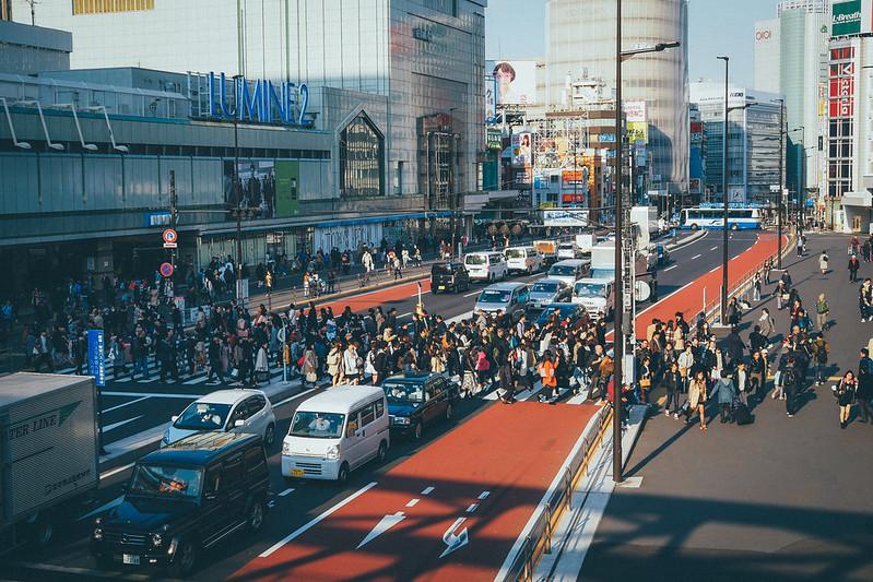 Shinjuku 新宿午後|東京 Tokyo