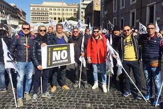Noicattaro. Protesta ambulanti front