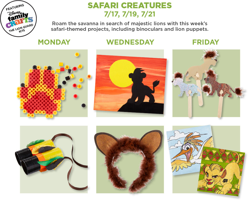 6-Safari Creatures