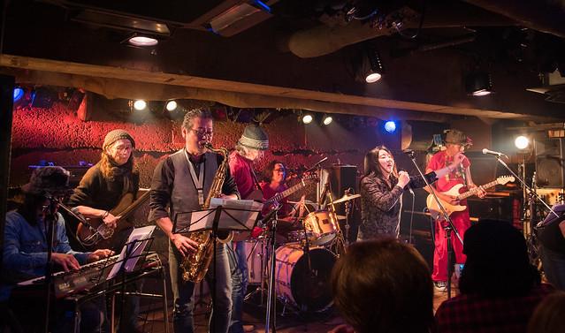 Yoshimitsu Kasuga's 60th birthday live at Manda-La 2, Tokyo, 03 Apr 2017 -00188