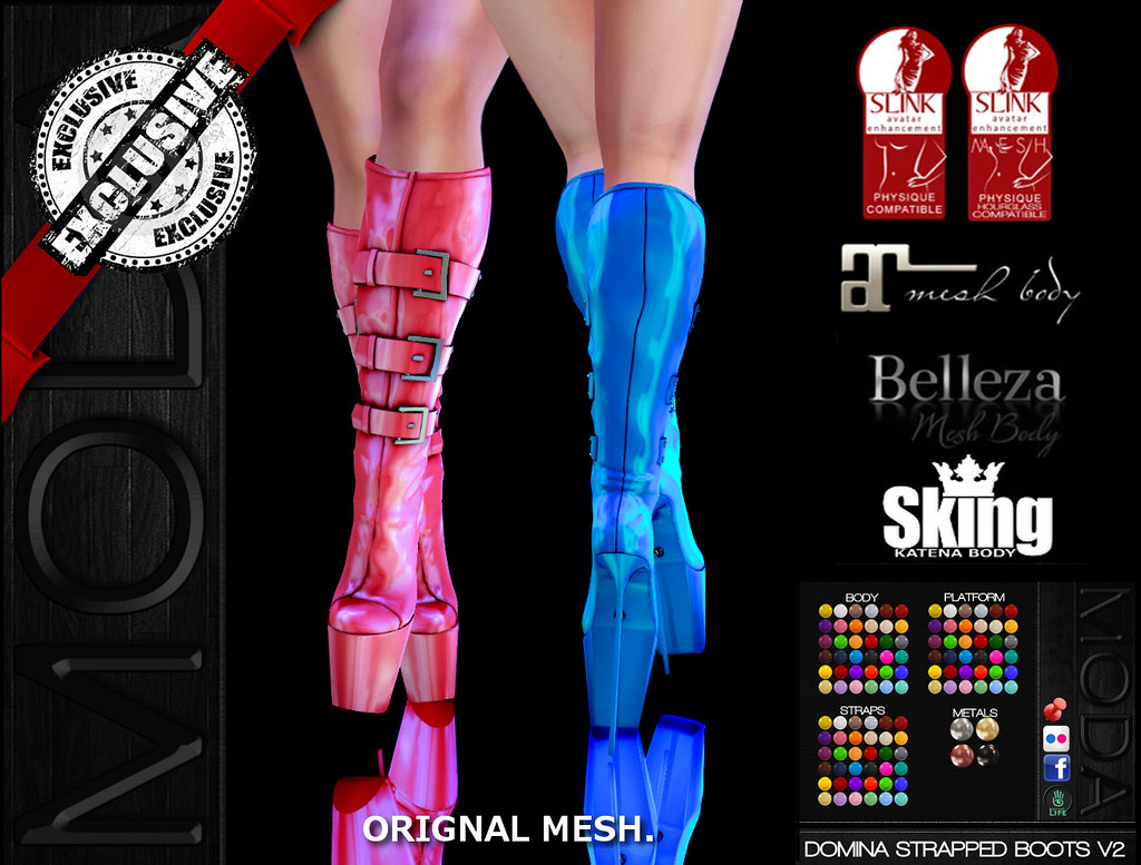Image result for moda domina boots second life