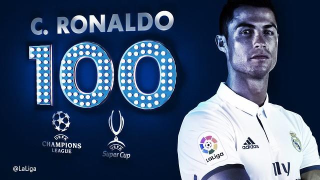 100 Goles de Cristiano Ronaldo en Competiciones Europeas