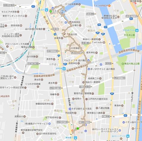 北品川〜新馬場〜青物横丁 2