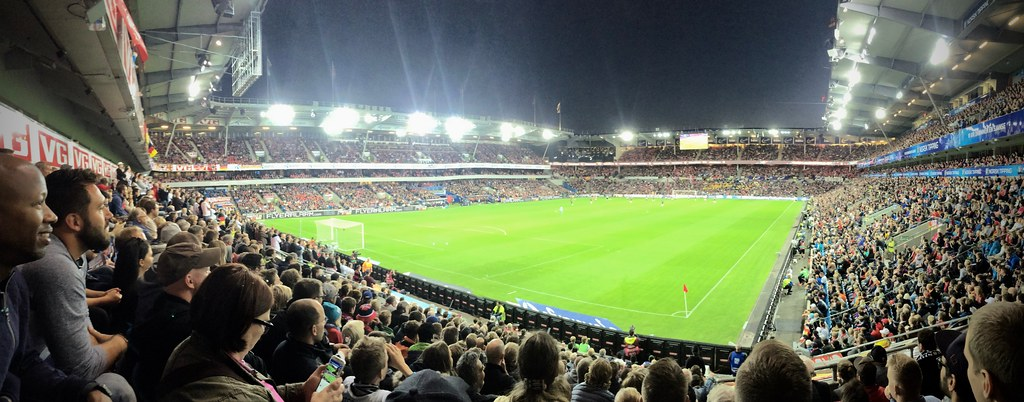 Germany v. Norway at Ullevaal Stadion