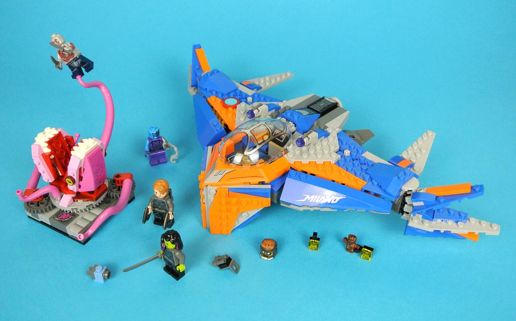 Torso NEW LEGO Super Heroes Drax from set  76021 76081