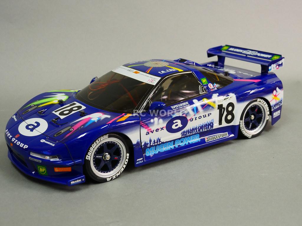Tamiya 1 10 Rc Car Acura Nsx Avex Dome Mugen Race Car Ta03 Flickr