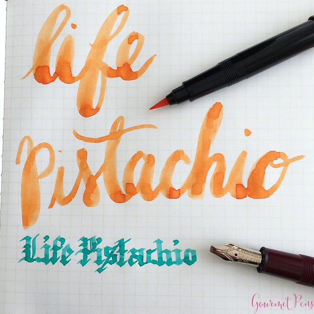 Review @LIFEStationery Pistachio A5 Notebook @AndersonPens 1