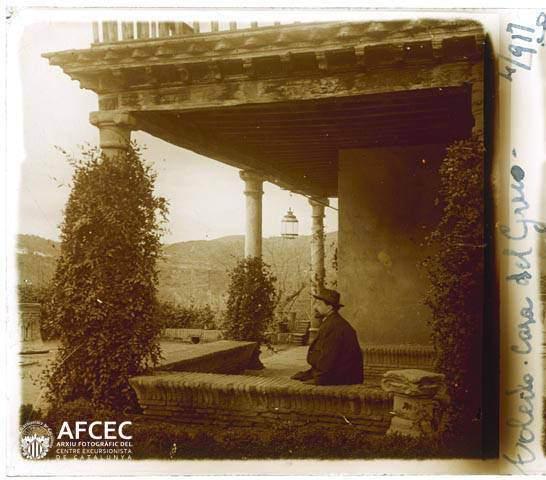 Museo del Greco en abril de 1917. Fotografía de Francesc Blasi i Vallespinosa   © Centre Excursionista de Catalunya