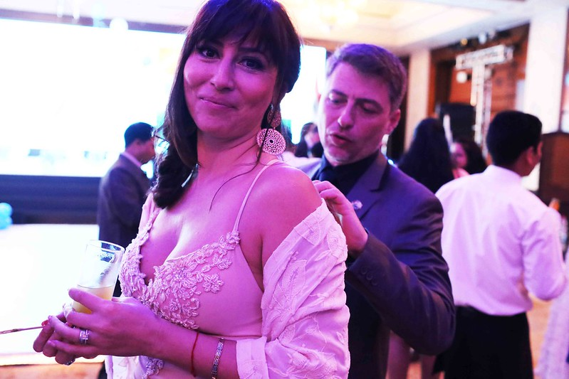 Netherfield Ball – Stranded in the Dream World of Diplomats at Israel's Independence Day Celebrations, Hotel Taj Palace