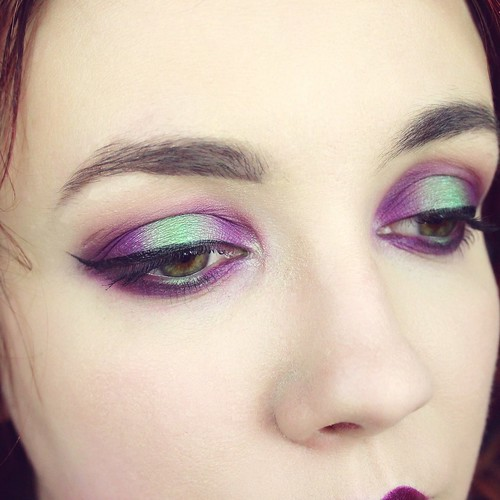 Poison makeup look - Big or not to big (3)