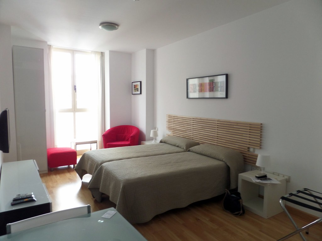Inside our Malaga studio apartment