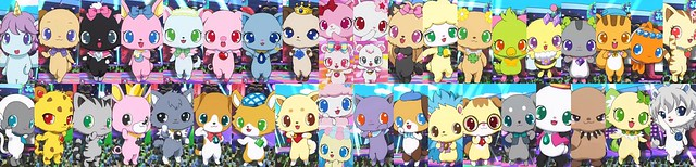 Jewelpet party the 40 jewelpets prior to april 2014 you se by dianing414 flickr photo - Jewelpet prase ...