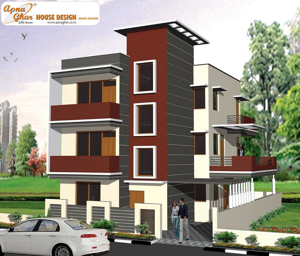 Triplex house design triplex house design like share for What is a triplex house